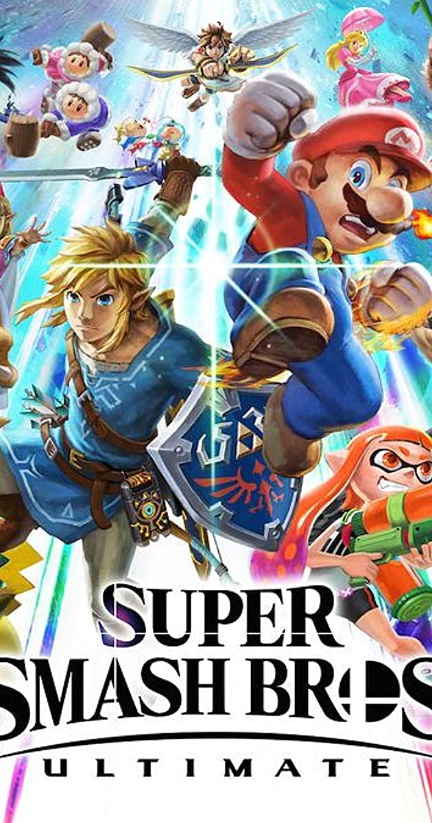Super Smash Bros Ultimate Video Game 2018 Connections