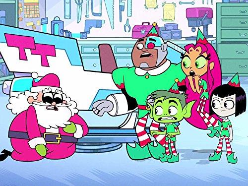 Save Christmas.Teen Titans Go Teen Titans Save Christmas Tv Episode 2016