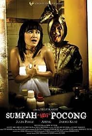 Aming Sugandhi and Julia Perez in Sumpah (Ini) Pocong! (2009)