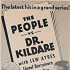 Lew Ayres, Lionel Barrymore, and Laraine Day in The People vs. Dr. Kildare (1941)