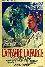 Erich von Stroheim and Marcelle Chantal in L'affaire Lafarge (1938)
