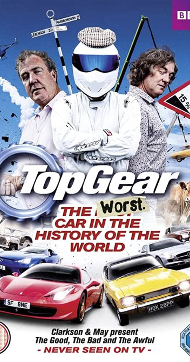 Subtitle of Top Gear: The Worst Car in the History of the World
