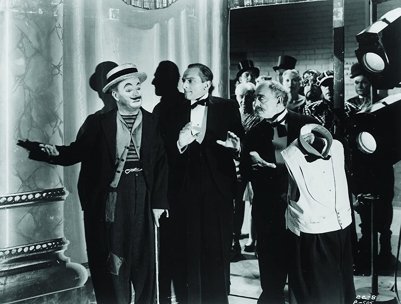 Buster Keaton and Charles Chaplin in Limelight (1952)