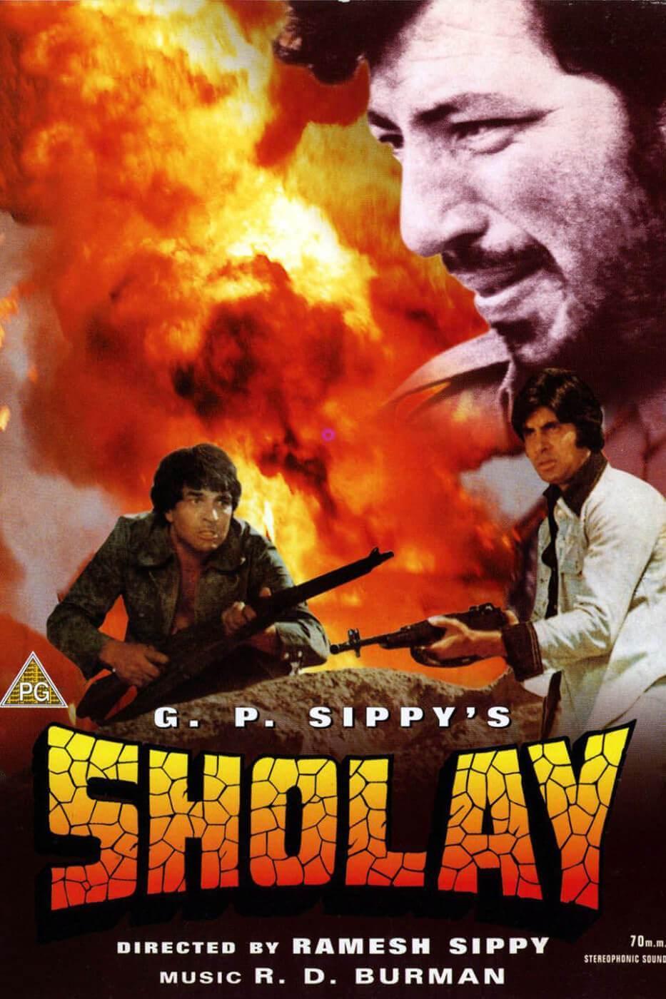 Sholay 1975 Blu-Ray 1080p DD 2.0 AC-3 MPEG-2 REMUX- SaturnWeb