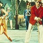 Gene Kelly, Leslie Caron, Richard Landry, Dick Lerner, and Oscar Levant in An American in Paris (1951)
