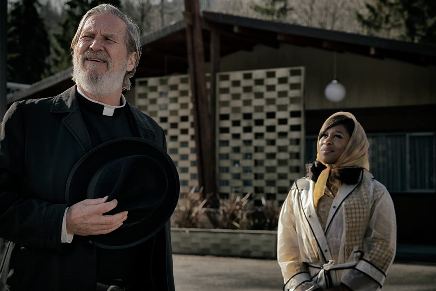 Jeff Bridges and Cynthia Erivo in Bad Times at the El Royale (2018)