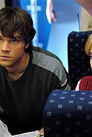 Jaime Ray Newman and Jared Padalecki in Supernatural (2005)