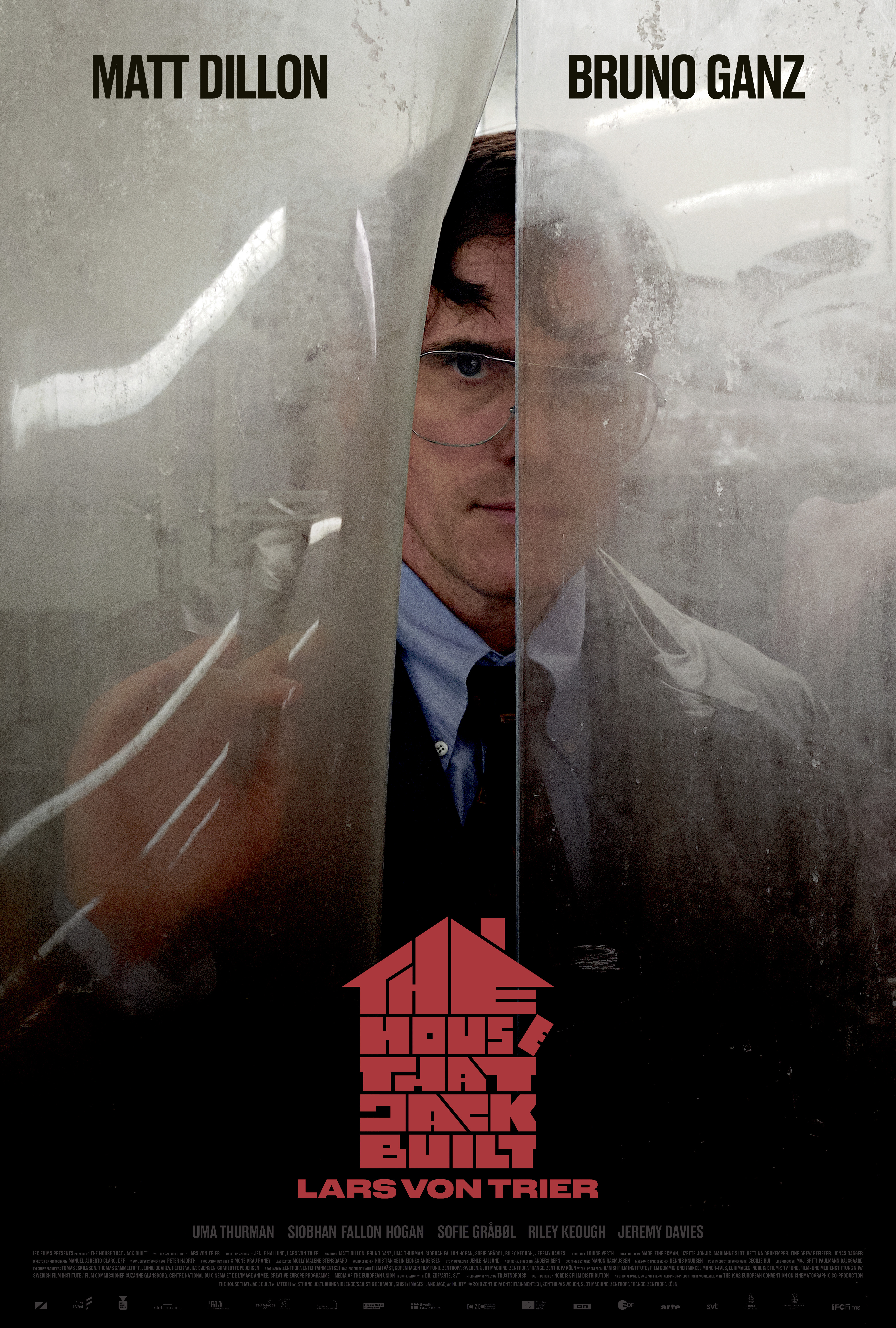 NAMAS, KURĮ PASTATĖ DŽEKAS (2018) / THE HOUSE THAT JACK BUILT