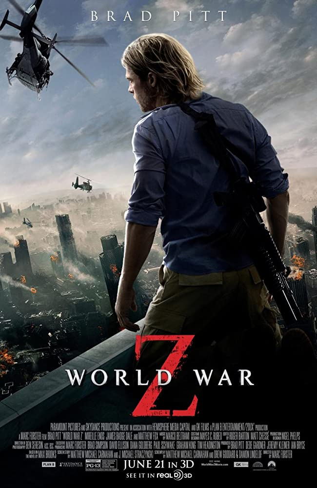 World War Z (2013) full hd Dual Audio Hindi 480p BluRay 450MB ESubs