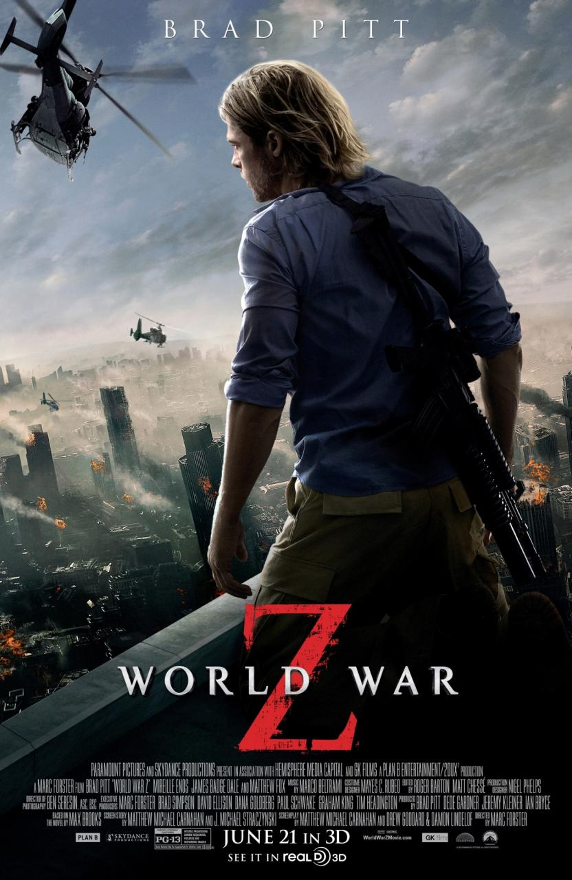 World War Z (2013) BluRay 480p, 720p & 1080p