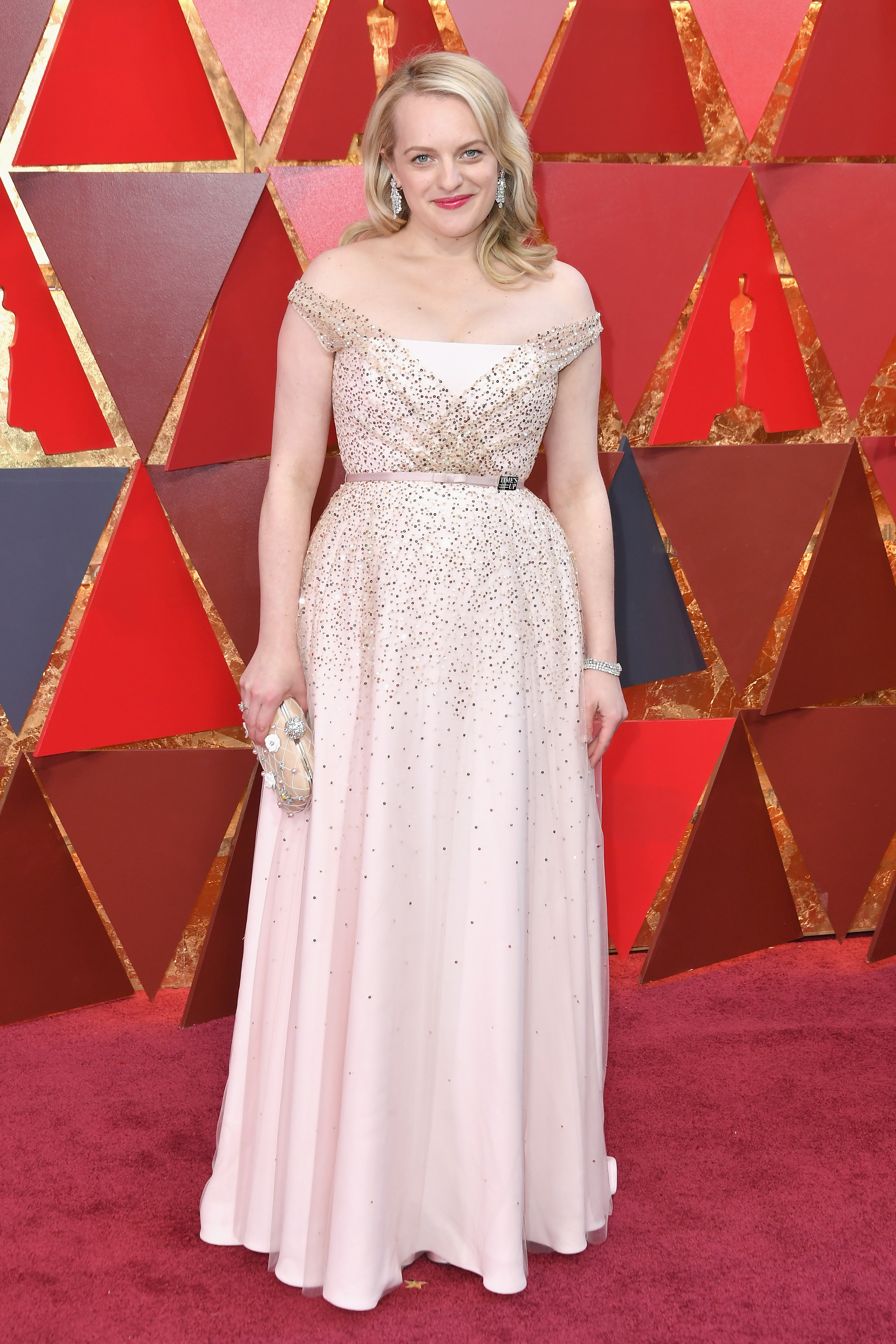 Elisabeth Moss at an event for The Oscars (2018)