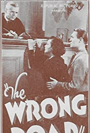 The Wrong Road Poster