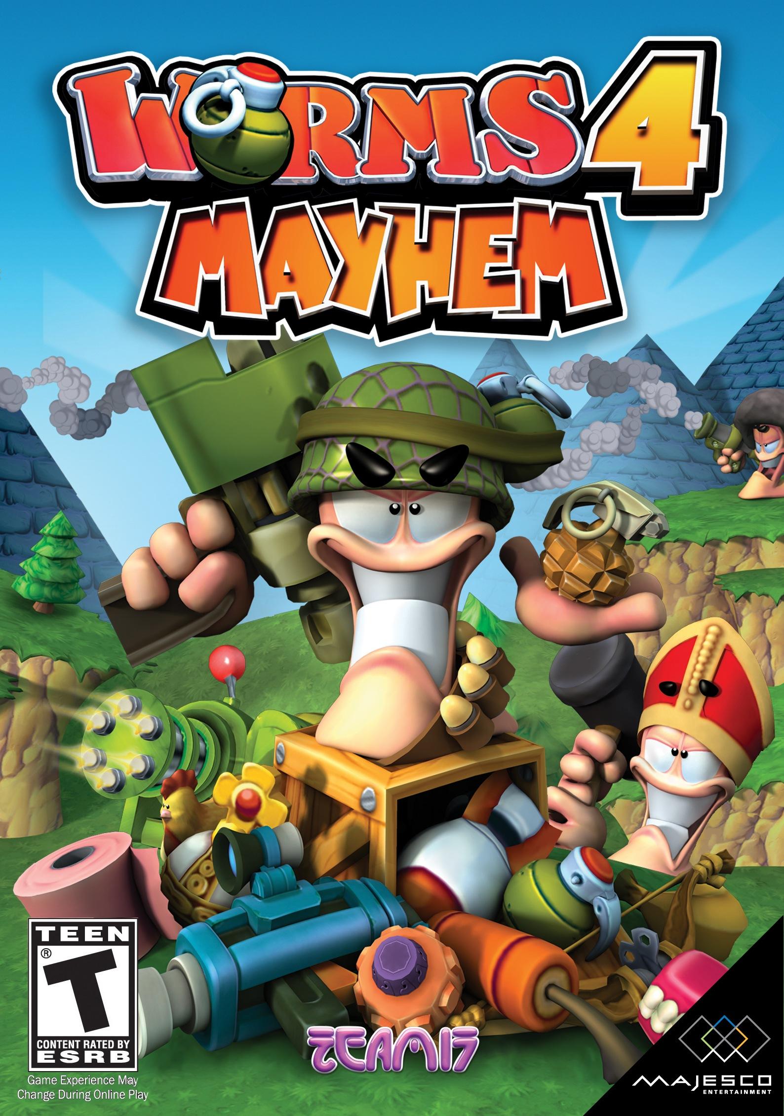 Worms 20 Mayhem Video Game 20   IMDb