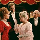 Debbie Reynolds, Ed Begley, Hermione Baddeley, and Harve Presnell in The Unsinkable Molly Brown (1964)