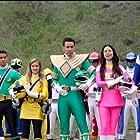 Jason David Frank, Patricia Ja Lee, Selwyn Ward, Hector David Jr., and Brittany Anne Pirtle in Power Rangers Super Megaforce: The Legendary Battle (2015)