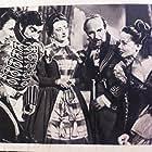 Frank Sinatra, Kathryn Grayson, J. Carrol Naish, Mildred Natwick, and Mikhail Rasumny in The Kissing Bandit (1948)