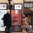 Adrian Tofei and Florentina Hariton at an event for Be My Cat: A Film for Anne (2015)