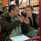 Salvatore Marino and Valerio Mastandrea in Gente di Roma (2003)