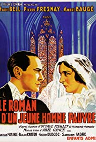 Marie Bell and Pierre Fresnay in Le roman d'un jeune homme pauvre (1936)