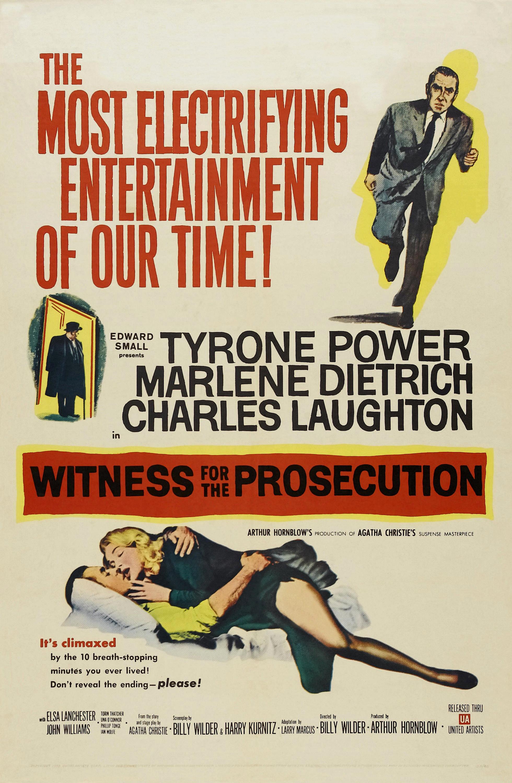 Witness for the Prosecution (1957) - IMDb