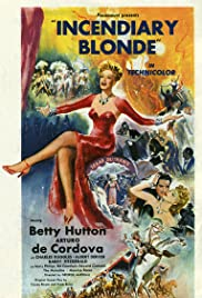 Incendiary Blonde Poster