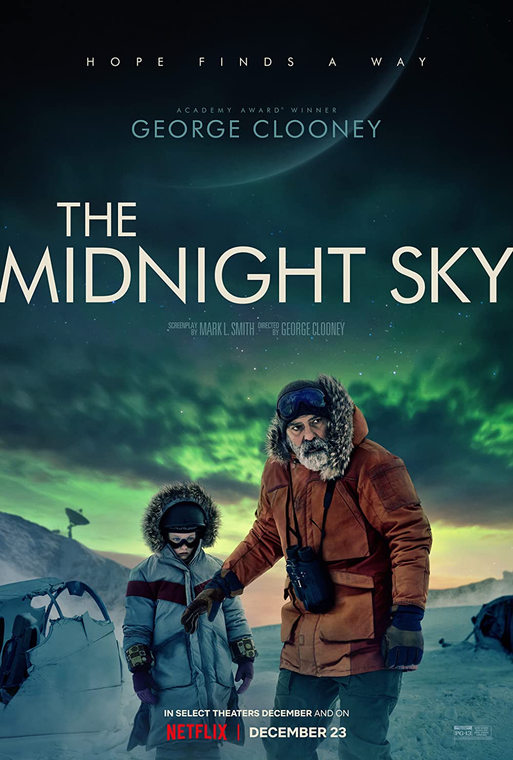The Midnight Sky 2020 Hindi Dual Audio HDRip 630MB x264