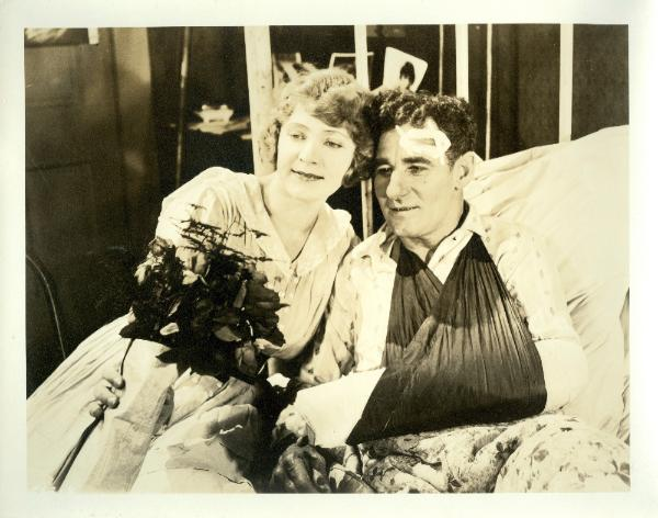 Rhea Mitchell and Fred Stone in The Goat (1918)