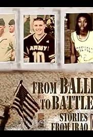From Ballfields to Battlefields: Stories from Iraq Poster