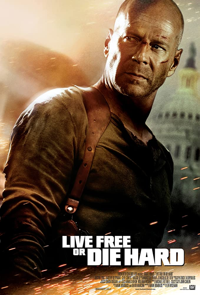 Die Hard 4: Live Free or Die Hard 2007 Movie BluRay Dual Audio Hindi Eng 400mb 480p 1.3GB 720p 4GB 10GB 1080p