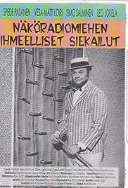 Näköradiomiehen ihmeelliset siekailut(1969) Poster - Movie Forum, Cast, Reviews
