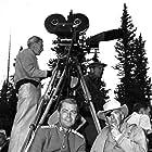 Alan Ladd and Raoul Walsh in Saskatchewan (1954)