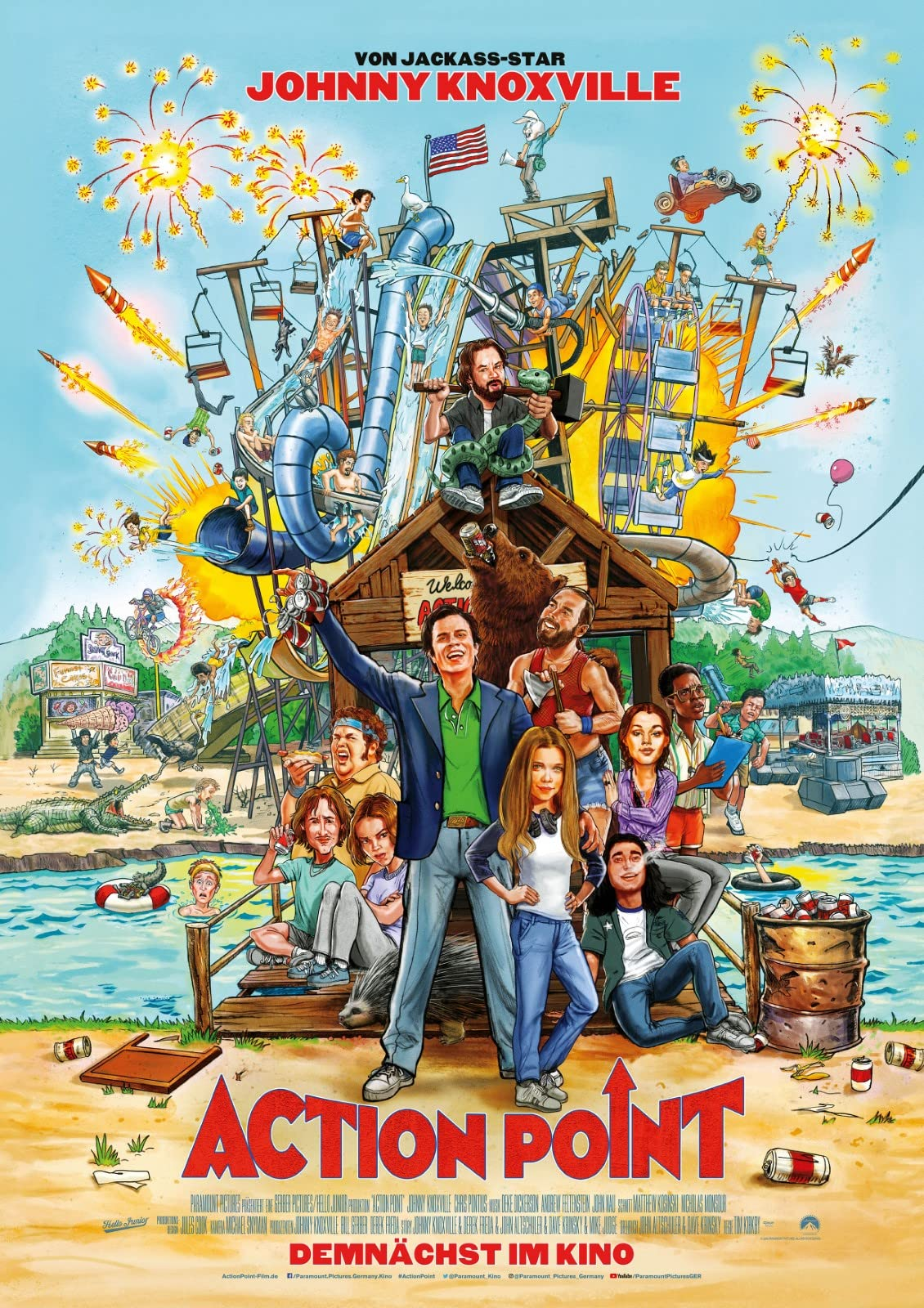 Action Point (2018) Hindi Dubbed