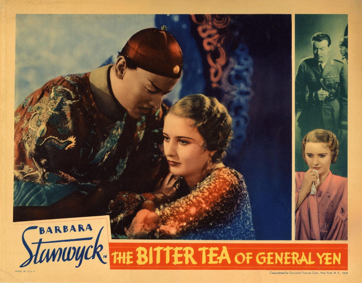 Image result for bitter tea of general yen 1933