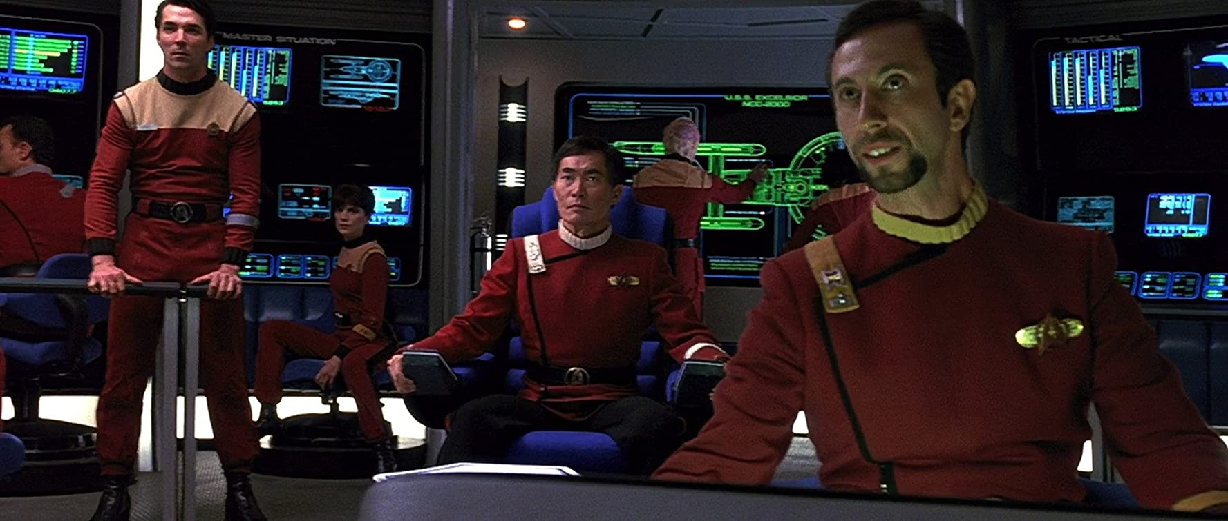 George Takei in Star Trek VI: The Undiscovered Country (1991)