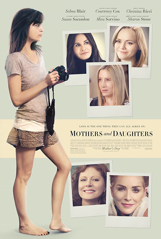 Christina Ricci, Susan Sarandon, Mira Sorvino, Sharon Stone, Courteney Cox, and Selma Blair in Mothers and Daughters (2016)