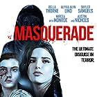 Skyler Samuels, Bella Thorne, and Alyvia Alyn Lind in Masquerade (2021)