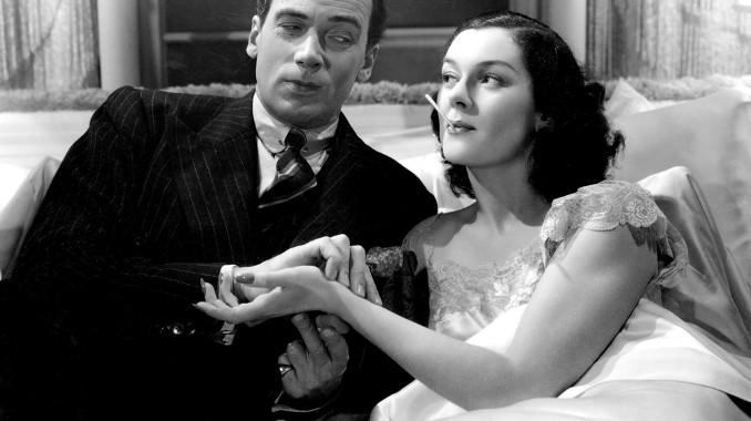 Walter Pidgeon and Rosalind Russell in Man-Proof (1938)