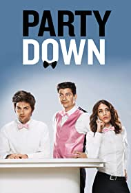 Adam Scott, Lizzy Caplan, and Ken Marino in Party Down (2009)