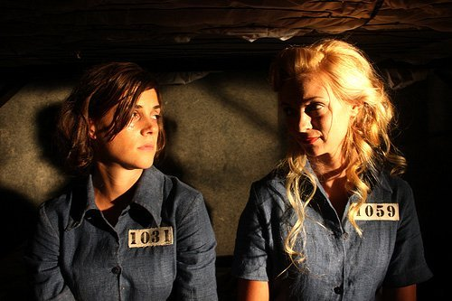 Margaret Anne Florence and Aprella in Condemned (2010)
