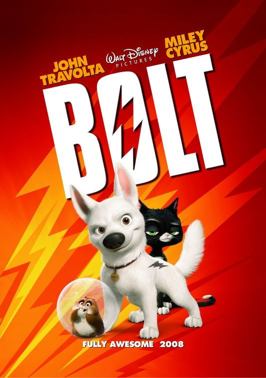 Bolt (2008) Hindi Dual Audio 350MB BluRay ESubs