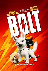John Travolta, Susie Essman, and Mark Walton in Bolt (2008)
