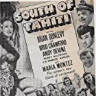 Broderick Crawford, Brian Donlevy, Armida, Andy Devine, and Maria Montez in South of Tahiti (1941)