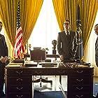 Kevin Spacey, Colin Hanks, and Evan Peters in Elvis & Nixon (2016)