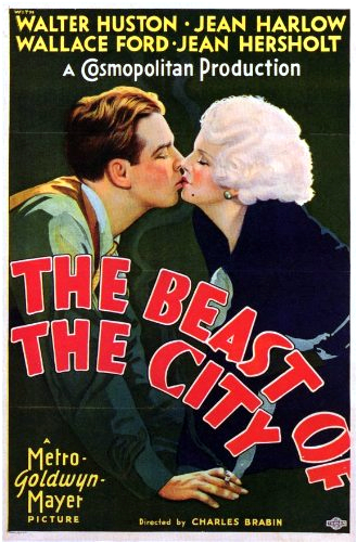 Jean Harlow and Wallace Ford in The Beast of the City (1932)