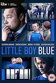 Stephen Graham, Sinéad Keenan, Brían F. O'Byrne, and Sonny Beyga in Little Boy Blue (2017)