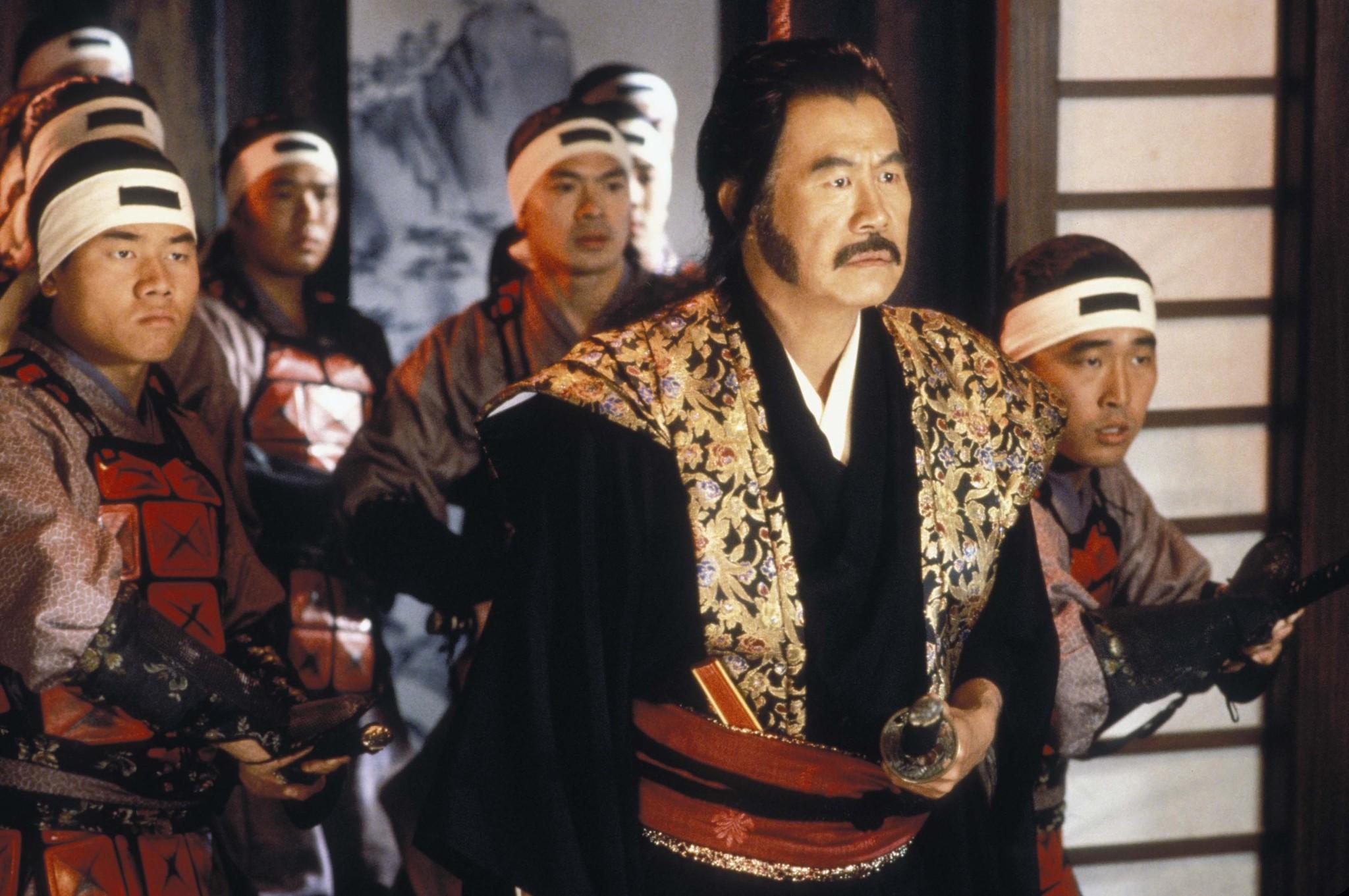 Steve Akahoshi, Ken Kensei, Kent Kim, and Sab Shimono in Teenage Mutant Ninja Turtles III (1993)