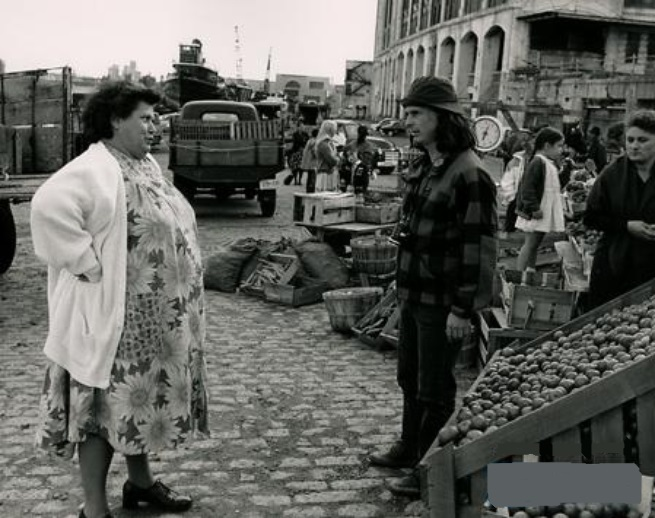 Jean-Claude Lauzon and Ginette Reno in Léolo (1992)