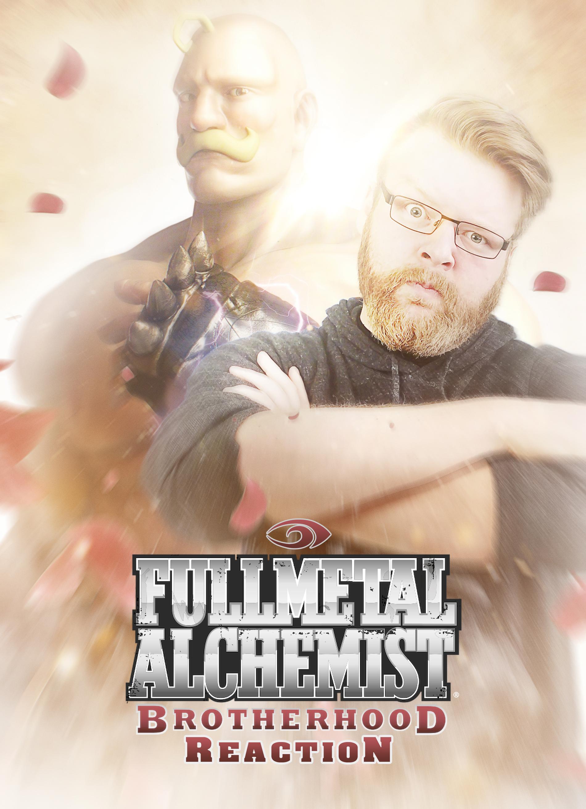 دانلود زیرنویس فارسی سریال Blind Wave: Fullmetal Alchemist Brotherhood Reaction