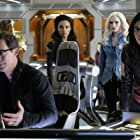 Tom Cavanagh, Danielle Panabaker, Tala Ashe, Carlos Valdes, and Maisie Richardson-Sellers in Legends of Tomorrow (2016)