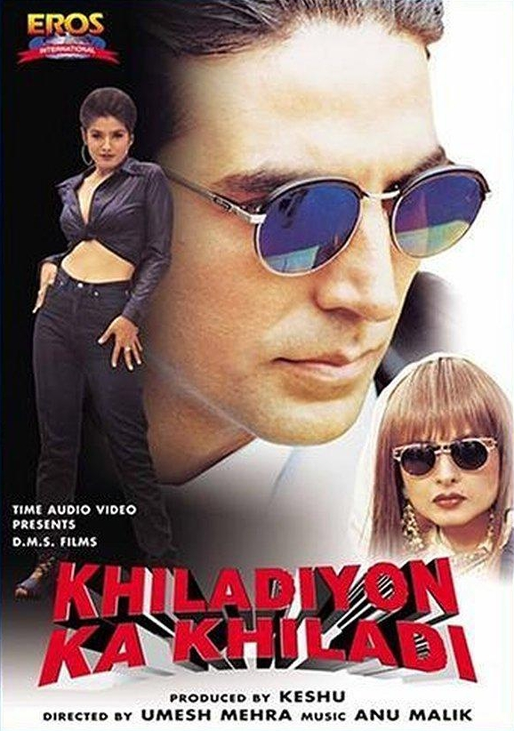 Khiladiyon Ka Khiladi 1996 Hindi Movie HS WebRip 400mb 480p 1.2GB 720p 4GB 1080p